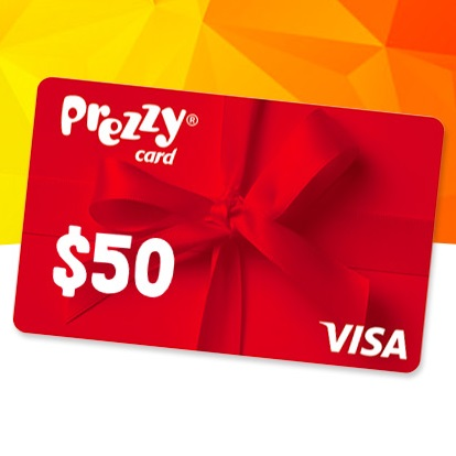 Win one of 5 $50 Prezzy Cards